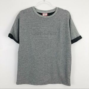 Hunter for Target Embossed Rolled Short Sleeve Tee